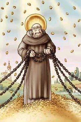 Atei simpatia catena di sant 39 antonio padre mariano da - Falso specchio magritte ...